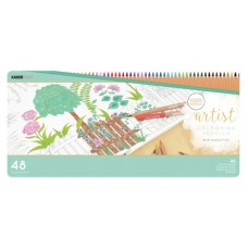 Kaisercraft Artist Coloured Pencils 48pc Tin